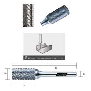 pilnik obrotowy do metalu